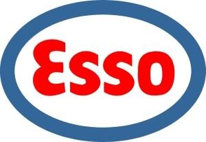 ESSO-Tankstellen-Symbol